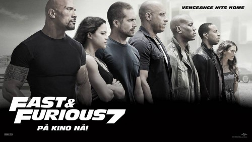 fast and furious 7 liggende aktuell